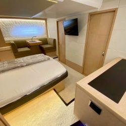 Prestige 550 Floria_Master cabin