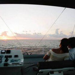 Prestige460_Flybridge_sunset